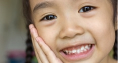 Make space for crowded teeth or teeth that have yet to erupt.
